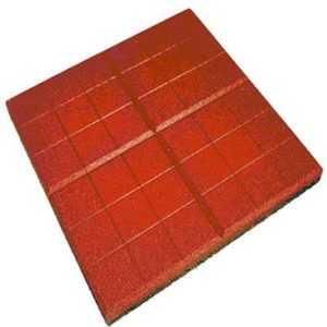 Резиновая плитка «Сетка» 350*350*20/30