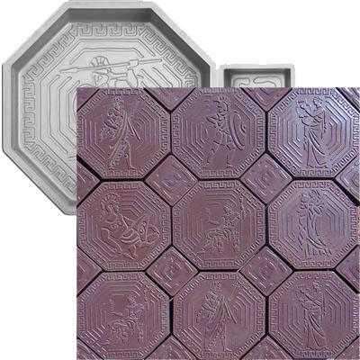 Форма для плитки «Греция» 300/100*300/100*35