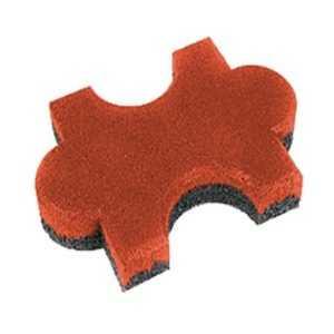 Резиновая плитка «Пазл»