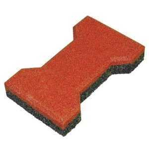 Резиновая брусчатка «Катушка»