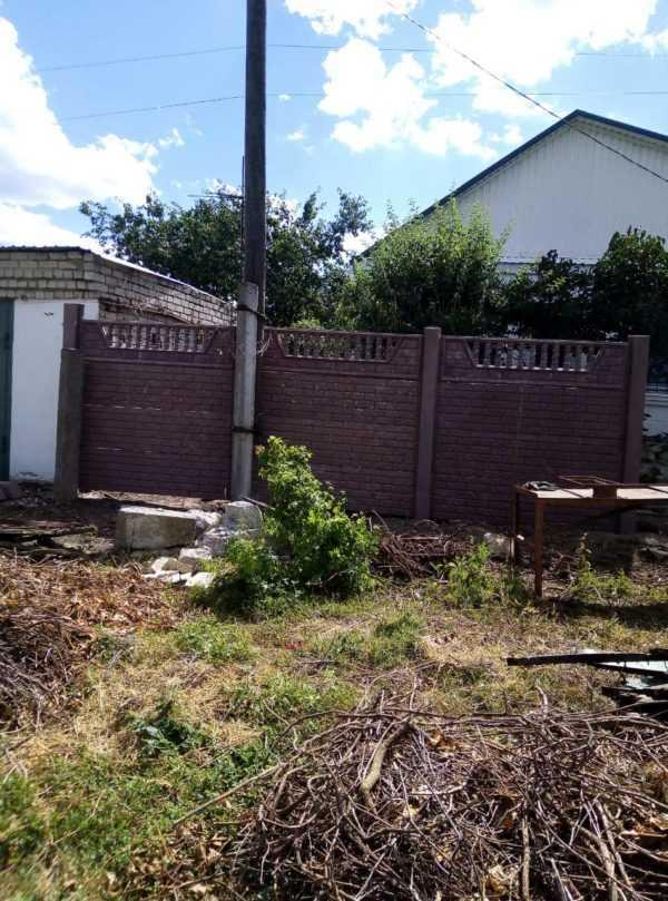 Забор бетонный  панель «Квартал»  1940*490*40