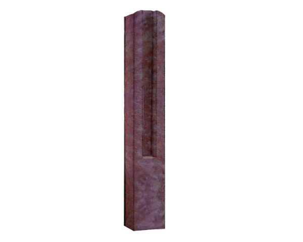Столб с пазами бетонный 1м, 1.5м, 2м, 2.8м